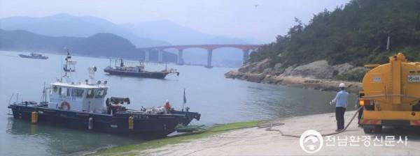 완도해경, 민․관 공동으로 바다의 오염을 막자!!(배포용) (2).jpg