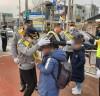 보성 경찰, 어린이 보호구역 교통안전 캠페인
